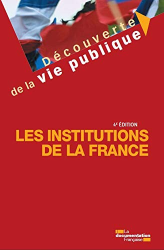 9782110094452: Les institutions de la France
