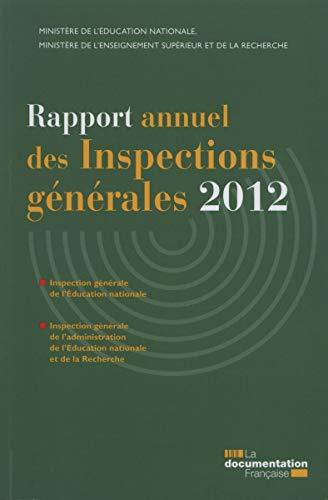 Rapport annuel des inspections générales 2012: Hélène Becquet
