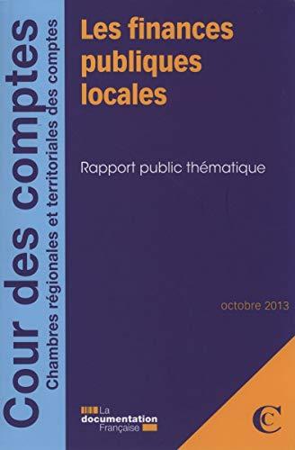 9782110096203: Les finances publiques locales - octobre 2013