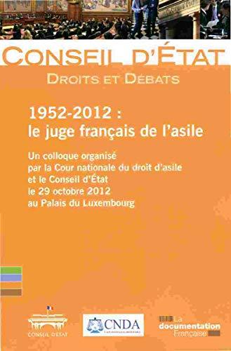 9782110096753: Le juge français de l'asile : 1952-2012