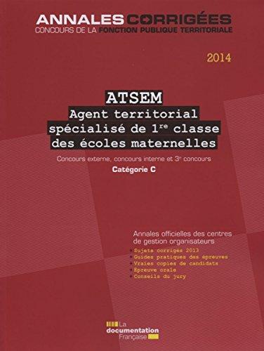 9782110098092: Agent territorial spécialisé de 1re classe des écoles maternelles, n°54 : Concours externe, concours interne et 3° concours, Catégorie C