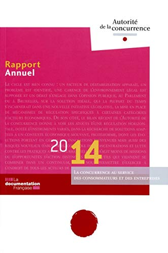 Rapport 2014 de l'Autorité de la concurrence