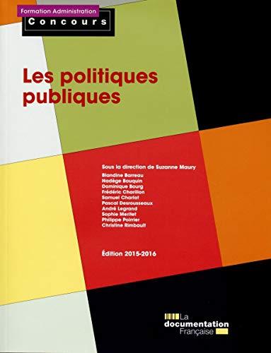 9782110100481: Les politiques publiques - Edition 2015-2016