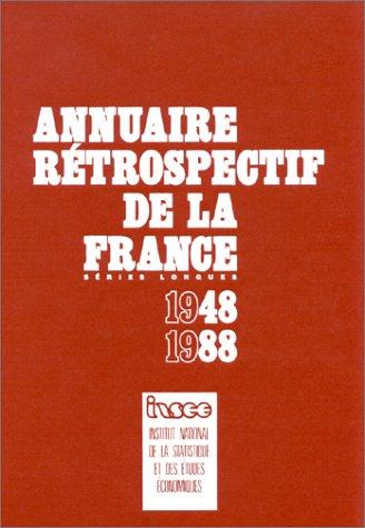 9782110653840: Annuaire r�trospectif de la France : S�ries longues
