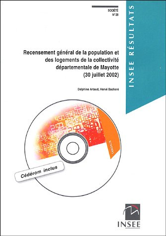 9782110682604: Recensement général de la population et des logements de la collectivité départementale de Mayotte (30 juillet 2002) (1Cédérom)