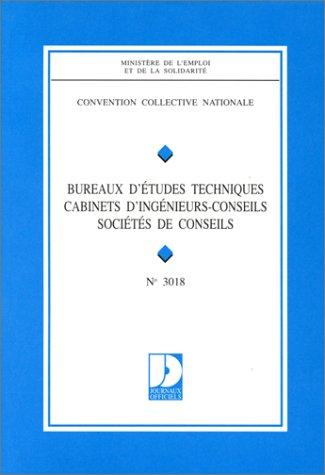 Convention Collective Nationale Bureaux D Etudes Techniques