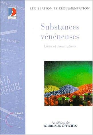 9782110751072: Substances veneneuses destinees a la medecine humaine et veterinaire