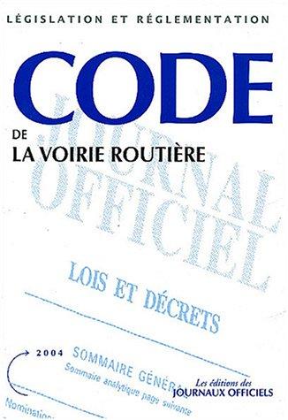 9782110756503: Code de la voirie routière