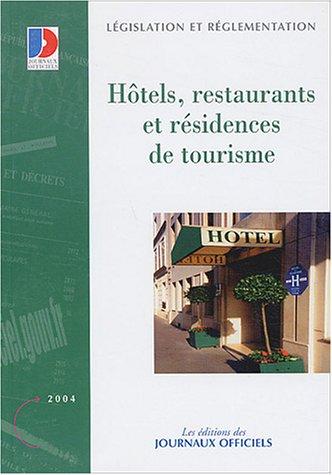 9782110756947: Hôtels, restaurants et résidences de tourisme