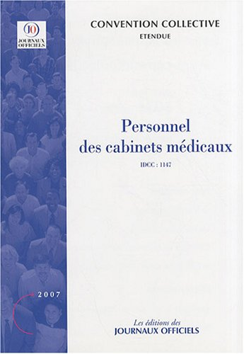 9782110764263: Personnel des cabinets medicaux (French Edition)