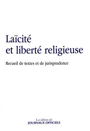 LAICITE ET LIBERTE RELIGIEUSE: COLLECTIF