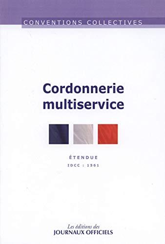 Cordonnerie multiservice - Convention collective étendue - 7ème édition - décembre 2012 - brochure n°3015 - IDCC 1561 - Direction des journaux officiels
