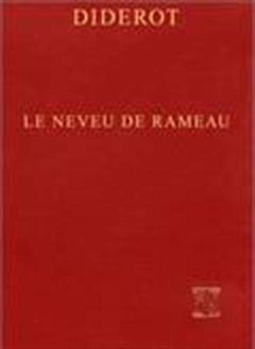 Le neveu de Rameau: Satire seconde (Lettres: Diderot, Denis