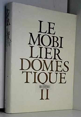 9782110809186: LE MOBILIER DOMESTIQUE