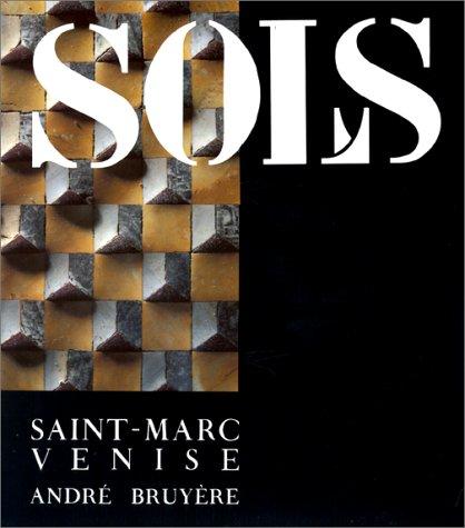 9782110810410: Venise, Saint-Marc, sols (French Edition)
