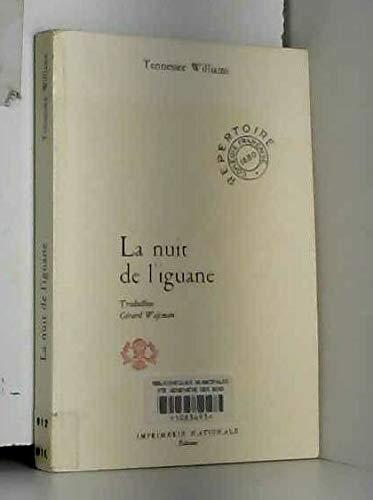9782110811394: La nuit de l'iguane