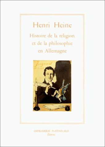 Sur l'histoire de la religion et de la philosophie en Allemagne (9782110812056) by Heine, Heinrich; Lefebvre, Jean-Pierre