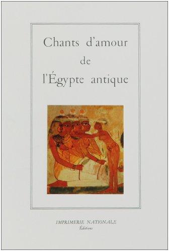 Chants damour de lÉgypte antique (La salamandre) (French Edition)