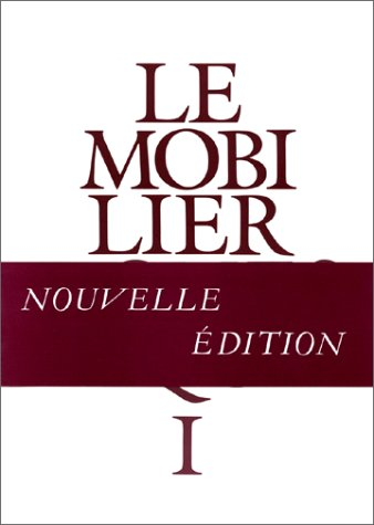 9782110812216: Le mobilier domestique : Vocabulaire typologique (Principes analyse scientifique)