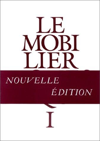 9782110812216: Le mobilier domestique : Vocabulaire typologique