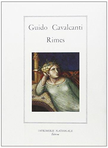 Rimes: Cavalcanti, Guido; Bec, Christian