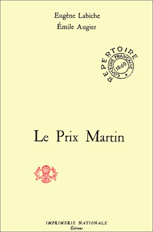 9782110813039: Le prix Martin : Comédie en trois actes
