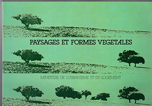 9782110818805: Paysages et formes v�g�tales