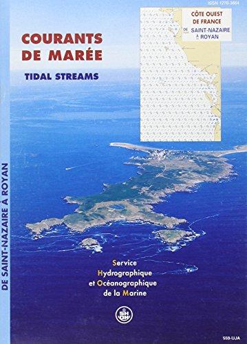 9782110883049: Carte marine : Courants des mar�es, c�te ouest France