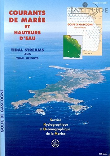 9782110883056: Courants Maree Golfe Gascogne