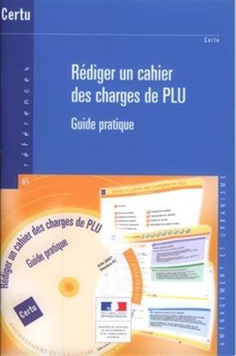 REDIGER UN CAHIER DES CHARGES DE PLU+CD: COLLECTIF