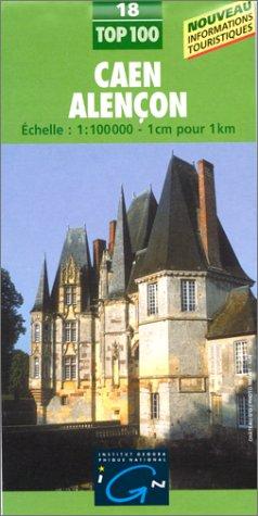 9782111001817: IGN Number 18 Caen, Alencon