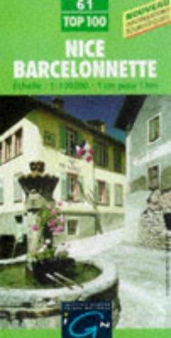 9782111006119: Nice/Barcelonnette (IGN Green Top 100)