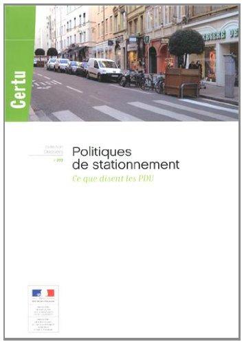 POLITIQUES DE STATIONNEMENT: COLLECTIF