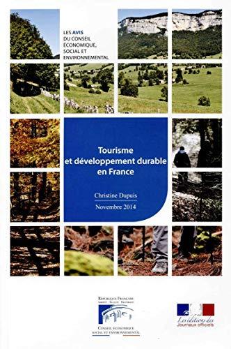 Tourisme et developpement durable en france: Christine Dupuis