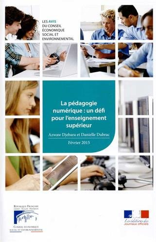 9782111386587: La pédagogie numérique : un défi pour l'enseignement supérieur