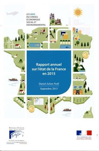 9782111386785: Rapport annuel sur l'�tat de la France en 2015