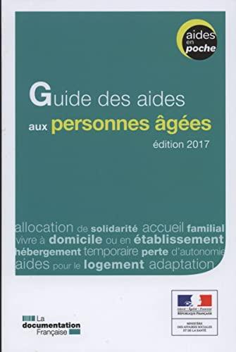 Guide des aides aux personnes âgées