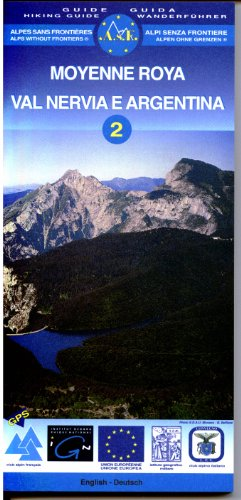 9782118830212: Moyenne Roya Val Nervia Argentina Alps Without Frontiers (Carto Guides) (No. 2)