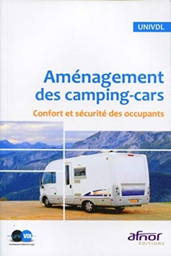 9782124156610: Am�nagement des camping-cars : Confort et s�curit� des occupants