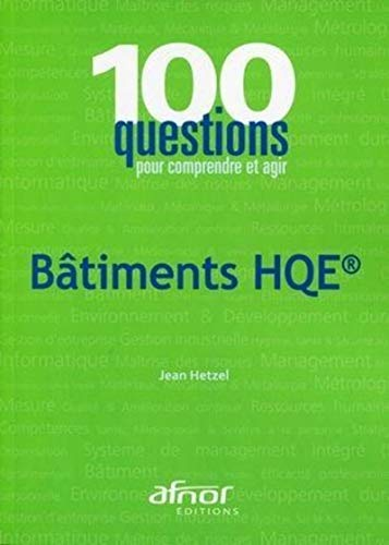 Batiments HQE (French Edition): Jean Hetzel