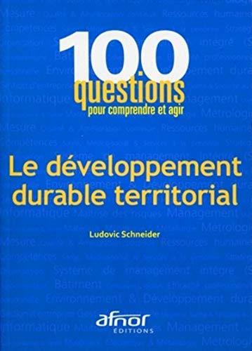 9782124652198: Le développement durable territorial
