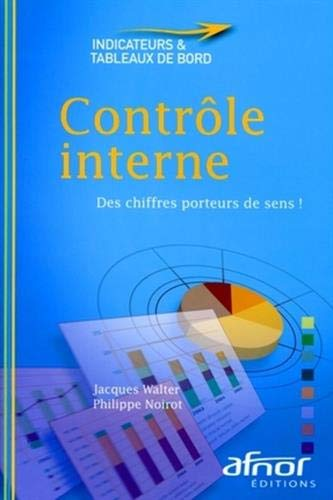 Controle interne (French Edition): Jacques Walter