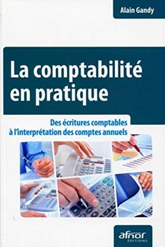 la comptabilité en pratique ; des écritures comptables à l'interpr&eacute...