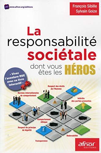 9782124654987: La responsabilité sociétale dont vous êtes les héros