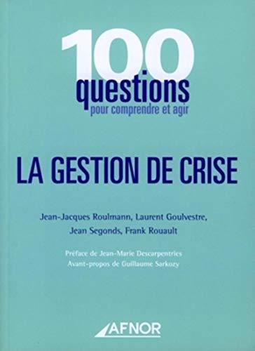 9782124755349: Gestion de crise (French Edition)