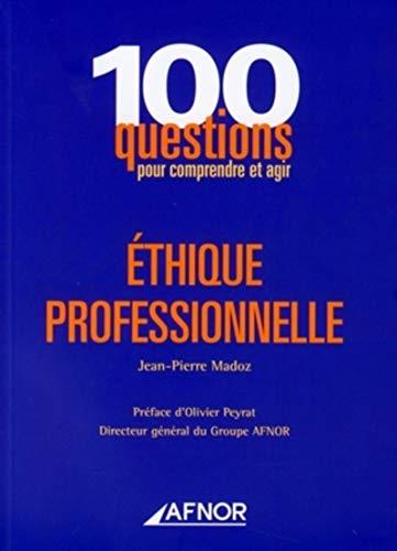 9782124755646: Ethique professionnelle (French Edition)