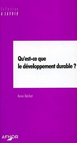 9782125050863: Qu'est-ce que le développement durable ?