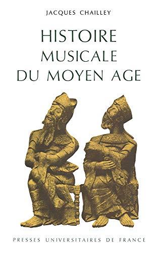 9782130304548: Histoire musicale du Moyen-Âge