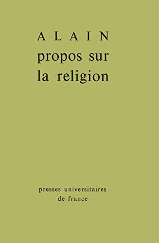 9782130308171: Propos sur la religion (French Edition)