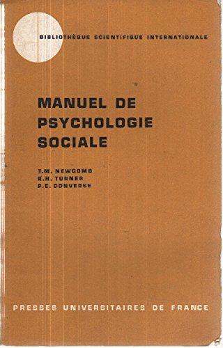 9782130312406: Manuel de psychologie sociale